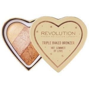Makeup Revolution Triple Baked Bronzer Hot Summer